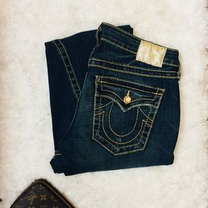 💫True Religion Jeans Crystal Gold | 30L | LowRise